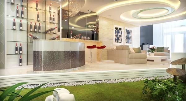 Những sáng tạo trong thiết kế nội thất cho biệt thự nhà phố cao cấp